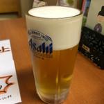 ビアカウンターちょこっと - ドリンク写真:奈良県で2番目に美味い生ビール