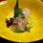 芝濱 - お造り 淡路さんの鯛