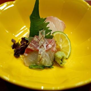 芝濱 - 料理写真:お造り 淡路さんの鯛