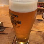 ARATA - ビールで乾杯!