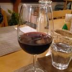 小さな宿&レストラン しいの木やま - 赤ワイン
