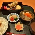 堂島雪花菜 - ★★★☆ 季節御膳 この他に茶碗蒸しと一口甘味が着きます
