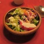 銀座イタリー亭 - ランチのサラダ