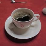 銀座イタリー亭 - 食後のコーヒー