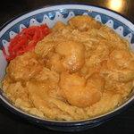 西安 - 料理写真:西安飯。当店の看板メニュー!トロ~ツと玉子とエビ天が本格派!