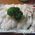 魚がし福ちゃん - 穴子の刺身