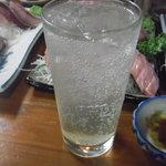 魚がし福ちゃん - レモンサワー