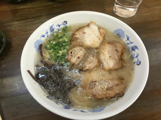 無法松 本店 - ラーメン(650円)
