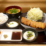 牛カツ 京都勝牛 - 特選京玉牛ロースカツ膳