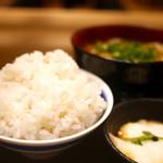 牛カツ 京都勝牛 - 麦とろセット&京玉