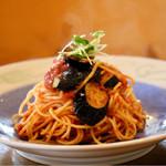 阿蔵 - 料理写真:ナスのトマトソース