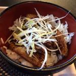 帯広豚丼・つけ麺 甚平 - セットの豚丼
