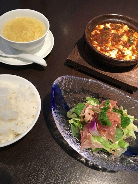 四川 - 麻婆豆腐ランチ1