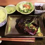 たけ美 - サバ味噌定食1,150円