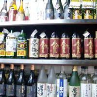 萩之茶屋鶴一 - 芋、麦焼酎取り揃えております。