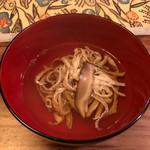 赤田風 - 料理写真:中身のお吸い物
