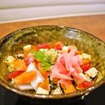 海まかせ旬菜料理 石廊庵 - 海まかせ海鮮丼(一例)