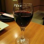 酔虎伝 - 赤ワイングラス