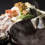 日本料理 磯風 - 冬の味覚てっちりもご用意