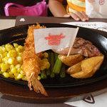 肉の万世 - 料理写真:お子さまステーキ60gコンボセット 1,380円