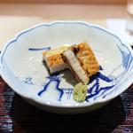 東麻布 天本 - 宍道湖の天然鰻のしら焼き