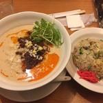 60901697 - 担々麺チャーハンセット