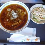 あしたね食堂 - ワンプレートランチ タンタンメン ¥450-
