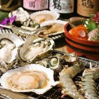 佐渡島産の食材を使用した宴会コース