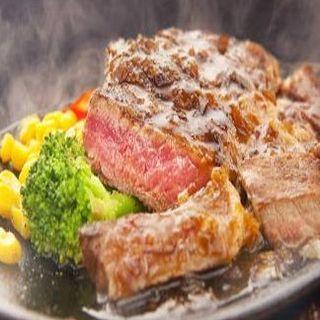 肉好きに!!アンガス牛サーロイン炭火焼ステーキ200g~