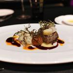 ラ ターブル ドゥ ジョエル・ロブション - マダラ、乾燥トランペット茸をまとわせホワレ