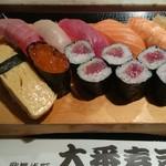 大番寿司 - 上にぎり