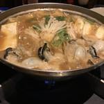 60906315 - 無事熱々の牡蠣鍋完成