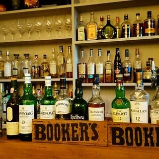 自家製サングリア、ビール、ワイン、ウィスキーなど多種ドリンク