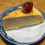 FLO・プレステージュ - 2種のクリームのミルクレープ 税込388円