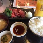 みふじ - 牛カルビ定食