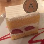 アヴァンソン - イチゴのショートケーキ