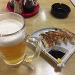 浜一食堂 - 生ビールとギョーザ
