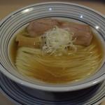 猫トラ亭 - 煮干しラーメン650円