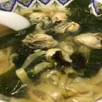 中国ラーメン揚州商人 - 冬だ。牡蠣だ。冬牡蠣ラーメンだ!
