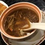 梅蘭 - 梅セットのスープ