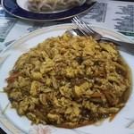 中華料理 祥宇 - 玉子がたっぷりな、フカヒレと玉子の炒め物
