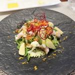 ビストロ ダイア - 鱧の落としのサラダ