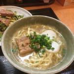 沖縄そば やんばる - 定食のやんばるそば