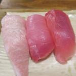 立ち寿司 まぐろ一徹 - 本まぐろ三味