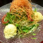6092617 - 京水菜と新鮮キャベツのサラダ