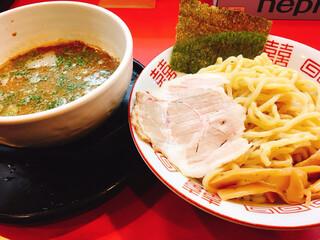 ラーメンたんろん 本店 - つけ麺:超太麺