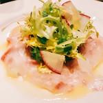 ヴィニュロン - 『旬の鮮魚のカルパッチョ』様、鯛のカルパッチョだったかな??