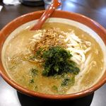 麺場 田所商店 - 目当ての伊勢味噌ラーメン700円が運ばれてきました。