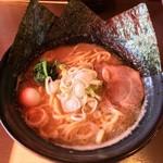 にのみや - 豚骨醤油らーめん+大盛   780円