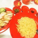 僕の鶏飯 - 鶏めし+フォーセット@850